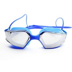Bazaar Antifog Adult Swimming Goggles Waterproof Swim Glasses Safety Goggles For Water Sports >>> You can get more details by clicking on the image.Note:It is affiliate link to Amazon.