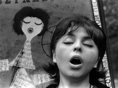 Miroslav Murazov. Singing Girl, 1960
