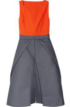70f0981934f12 Antonio Berardi - Color-block woven dress
