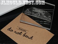 Wedding Photography do not bend custom rubber stamp // by JLMould #etsy