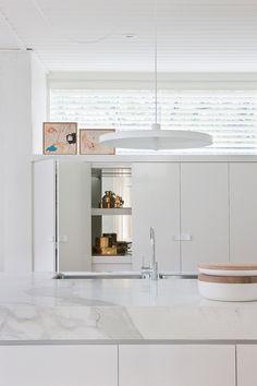 love the concertina cupboard doors