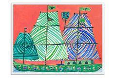 Lulu DK, Viaggio II Framed Print L60 on OneKingsLane.com by Lulu DK- for Julianne