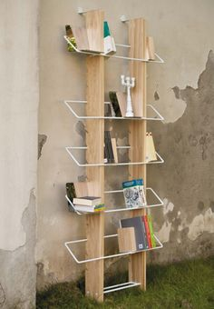 Traliccio bookshelf by 4P1B design studio