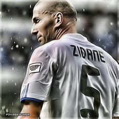 Zidane. Known as one of the best footballers of all time.