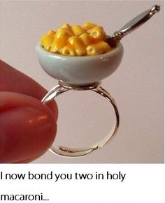 Whoever picked out this engagement ring. | 19 People Whose Love Of Cheese Went Too Far