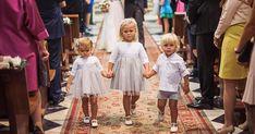 Cómo vestir a las damitas y pajes de boda