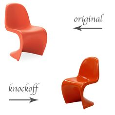Original Vs Knockoff: Panton Chair   Life In Sketch