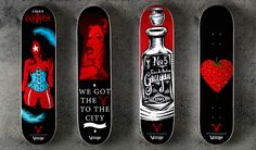 Skateboard Decks by Pawel Kozlowski  6
