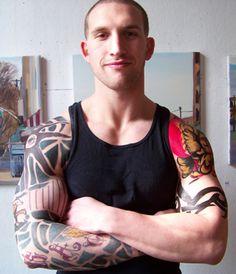 blair redford tattoos