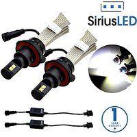 Cheap SiriusLED XM L2 Chipset Super Bright 5000 Lumens Fan-less CREE LED Bulbs…