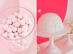 Fluro and White Dessert Table for Eskimo Design   Sweet Style