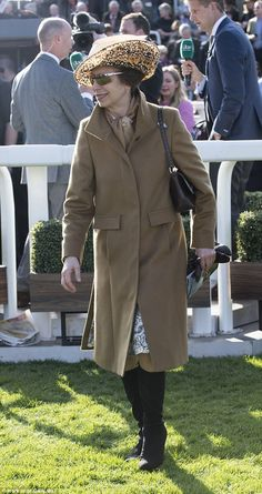 Princess Anne has put her younger family members to shame with a dizzying roster of UK gal...