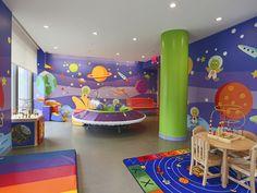 indoor village area for kids - Theme Idea