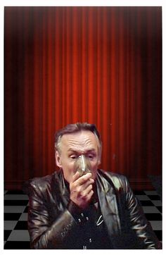 "Lynch039 Dennis Hooper as Frank Booth / ""Blue Velvet"" / David Lynch 1986"