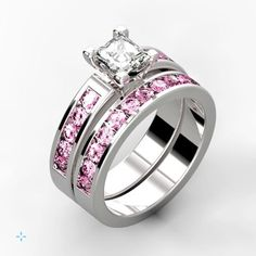 Would you wear this beautiful pink sapphire ring?