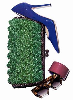 #MMissoni | #raffia effect chestnut gemini clutch bag | @Gisa de Lima de Koning Beauté, Greece