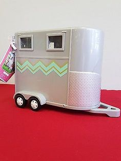 LORI  Horse Trailer HOOFING IT- ONLY THE TRAILER FOR HORSES. Girls, TOYS. No Box