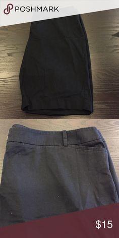 "Talbots 13"" Twill Shorts - Black Bermuda shorts that give a slimming silhouette Talbots Shorts Bermudas"