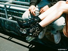 THE PLASTICS   Jeffrey Campbell Shoes // OSPREY