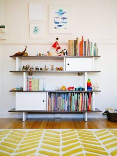 Style your natural playroom with an awesome little library. Check out this one from Oeuf at Sprout SF.