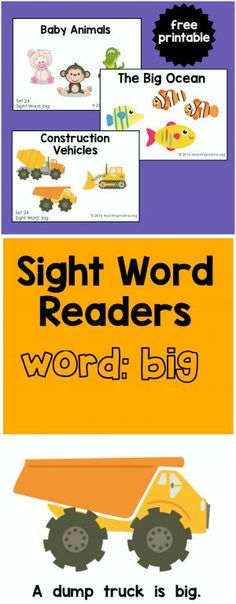 big-sight-word-readers