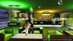Setting the Mood Green Lounge