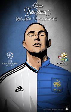 Karim Benzemá, Real Madrid - France