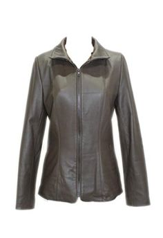 SALE PRICE  $800 - Original Retail is $800. Color: Brown New Brown Butter-Soft Lamb Leather Jacket.