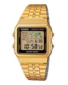 cbfdb244201f Ρολόι CASIO Collection Digital Ladies A-500WEGA-1EF Relojes En Línea