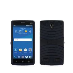 Buy ZTE ZMAX 2 Z955L Z958L (AT&T, Tracfone), LF 4 in 1 Bundle, New Premium Dual Layer Hybrid Armor Case with Stand, Stylus Pen, Screen Protector & Wiper Accessory (Armor Stand Black) NEW for 5.5 USD | Reusell