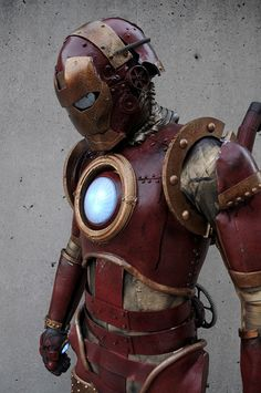 Steampunk Ironman #Iron_Man #costume #cosplay