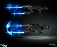 ArtStation - TF PRIME - Weapon FX, Augusto Barranco