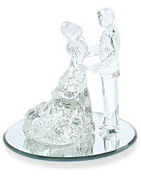 Glass Wedding Cake Toppers Seokg