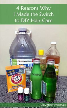 Why did I decide to make the switch to DIY hair care? See for yourself why it's frugal, green, easy, and awesome!