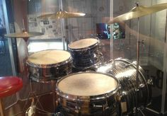 Ringo Starr's Ludwig Kit that he used from 1964 to 1967. McCartney used parts of this kit on his solo albums and Wings Albums