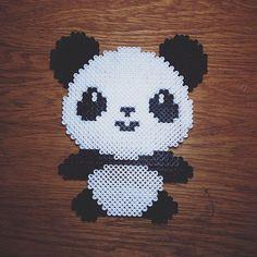 Panda perler beads by  casuallycharmed