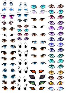 My Skills Guide: Self Studies : Manga Eye for Amigurumi