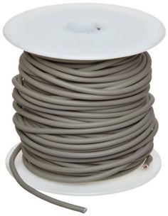 "GXL Automotive Copper Wire, Gray, 14 AWG, 0.0641"" Diameter, 100' Length (Pack of 1) by Small Parts. $33.93. GXL insulation is therosetting (will not melt) crosslink Polyethylene temp range -40 to 125 C, grey color"