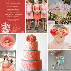 Coral Beach Wedding Ideas