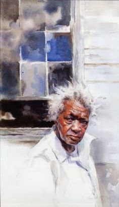 Mary Whyte - artwork prices, pictures and values. Art market estimated value about Mary Whyte works of art. Painting People, Figure Painting, Painting & Drawing, African American Art, African Art, Watercolor Portraits, Watercolor Paintings, Art Aquarelle, Illustration Art