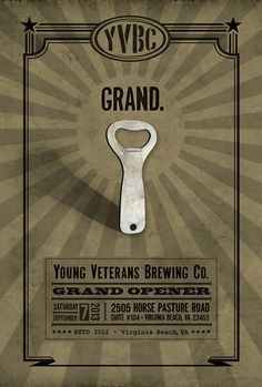 "Young Vetereans Brewing - ""Brewing with the Freedom we fought for!"""