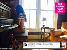 Justin Bieber just couldn't resist! He 'liked' Selena Gomez's super sexy bikini photo that she posted on Instagram on March 24. Is this his way of telling her that he misses her?!