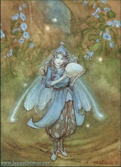 Tonya Fairy ACEO limited Edition by brownieman on Etsy, $6.00