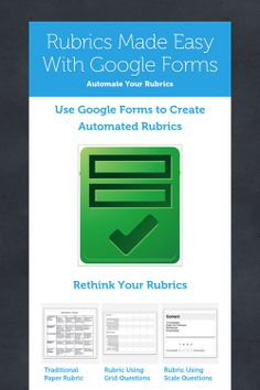 I chose this resource because I feel that creating and providing rubrics enhances the student learning experience and helps teachers with grading Teaching Technology, Educational Technology, Instructional Technology, Instructional Strategies, Differentiated Instruction, Medical Technology, Energy Technology, Student Learning, Flipped Classroom
