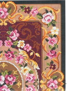 Acabo de terminar, una alfombra en punto de cruz que me encanta. Así que me he animado a poner mas entradas con la recopilación de todas las...