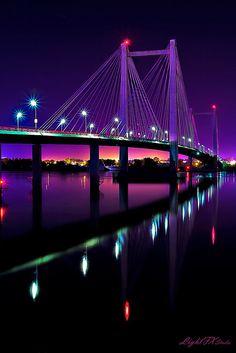 Cable Bridge, WA.