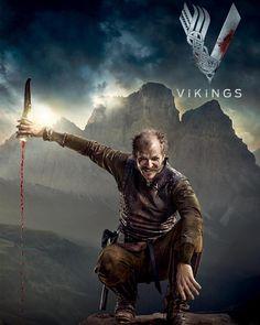 "Vikings Gustaf Skarsgard as ""Floki"" Vikings Show, Vikings Season, Vikings Tv Series, Viking Life, Viking Warrior, Norse Goddess, Norse Mythology, Viking Wallpaper, Ragnar Lothbrok Vikings"