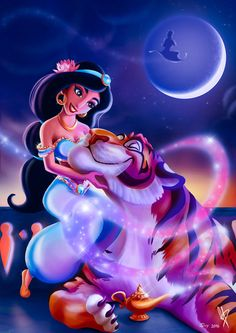 Jasmine - Arabian Nights by MaxiePerlberg on DeviantArt