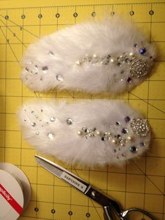 White Swan costume hair pieces