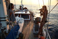 boat, ship, ocean